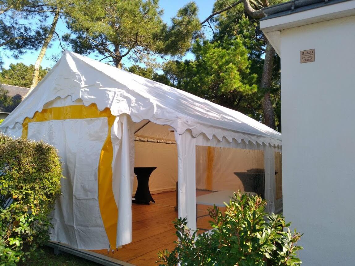 tente pour mariage en location
